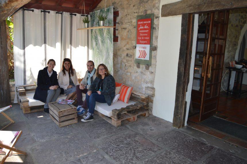 Visite des ateliers de Jean Vier lors de la 1ère rencontre UFDI au Pays Basque