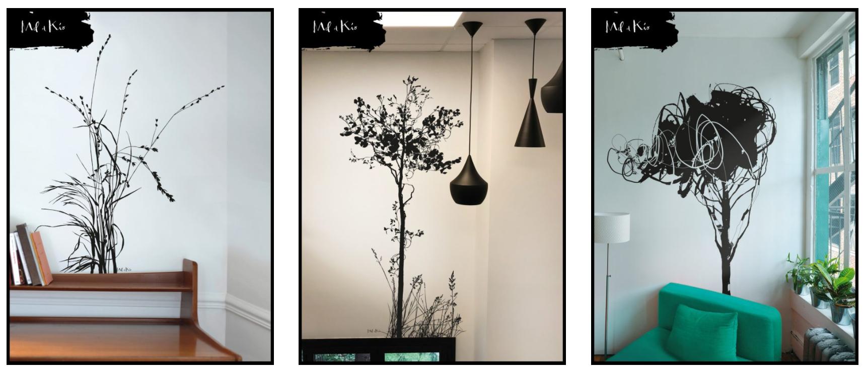 L 39 art mural en d coration int rieure de mel et kio - Decoration interieure originale ...
