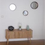 buffet, ensemble de miroirs