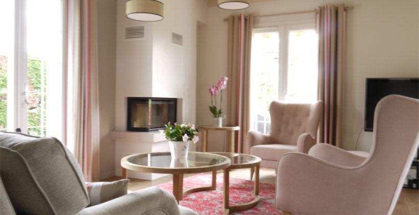 Décoration intérieure d'un espace de vie, salon séjour à Saint Pée sur Nivelle