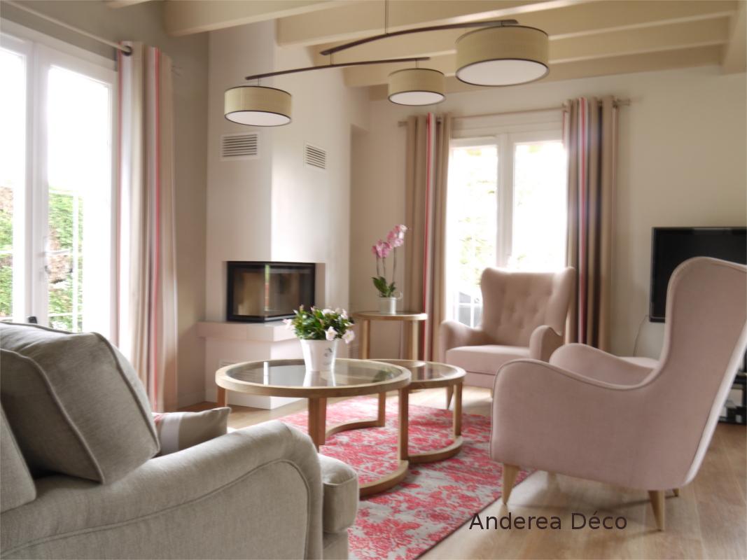 Decoration Interieur Salon Sejour décoration intérieure d'un espace de vie, salon séjour à saint pée
