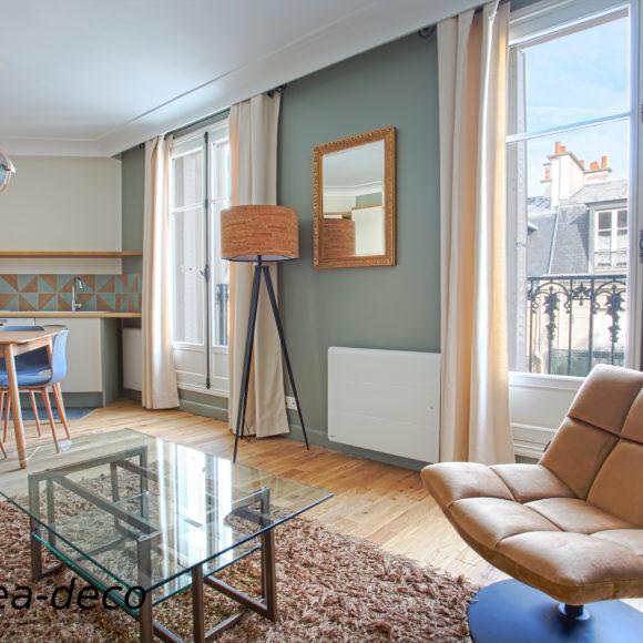 Paris : Appartement Haussmannien dans le 15ème