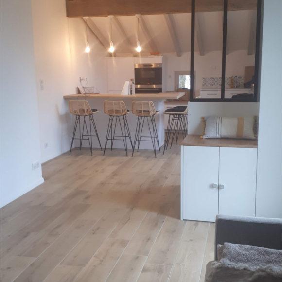 Aménagement d'espace et Décoration intérieure pour un nouvel appartement T2 à St Pée Sur Nivelle