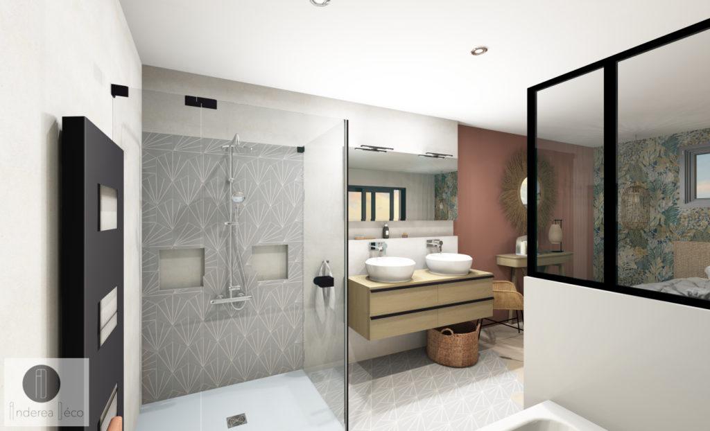 salle de bain vue 3D